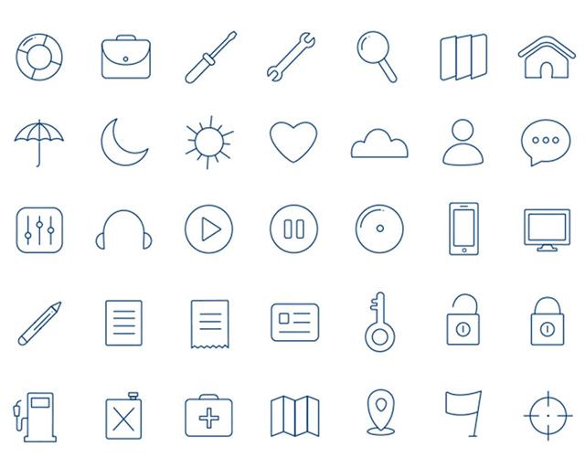 Freebie Icons set