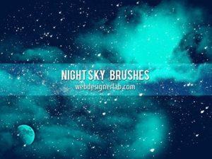 فرش فوشوب سماء الليل