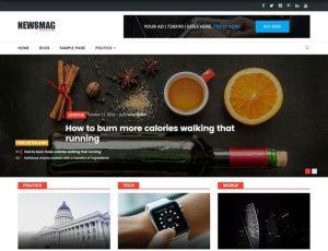 NewsMag lite magazine theme