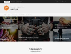 greatmag free wordpress magazine theme