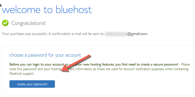 خطوات شراء استضافة بلوهوست Bluehost