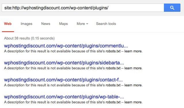 البحث عن الاضافات عن طريق جوجل